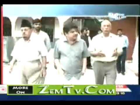 2 June 2010 Ahmadiyya Sahibzada Mirza Ghulam Ahmad Sahib in Point Blank with Mubashir Lucman part 1