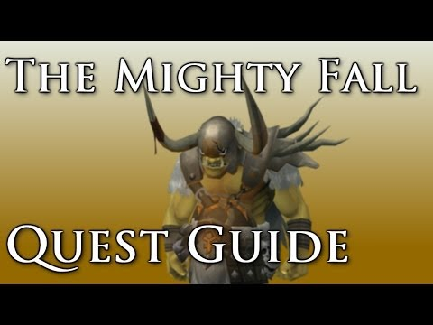 RSQuest: The Mighty Fall Quest Guide – Runescape 3 [RS3-2014]