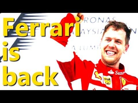 Ferrari's Sebastian Vettel storms to Malaysia win