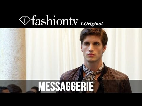 Messaggerie Men Spring/Summer 2015 Fashion Show | Milan Men's Fashion Week | FashionTV