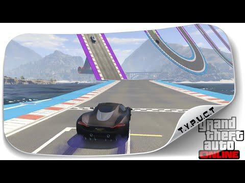 #TPCT - Жестокий и угарный авто-паркур в GTA 5 Online