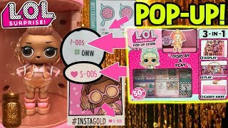LOL Surprise Series 4 Under Wraps Exclusive LOL Doll | LOL Pop Up Store For LOL Dolls! | LOL Videos
