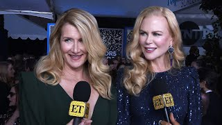 Nicole Kidman And Laura Dern Tease Possible 'Big Little Lies' MOVIE | SAG Awards 2020