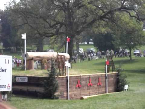 Badminton horse trials 2011