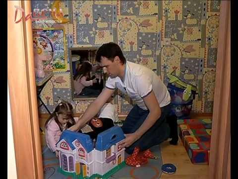 Семья усыновила ребенка с синдромом дауна