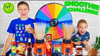 MYSTERY WHEEL OF SMOOTHIE CHALLENGE - Les Pires Smoothies avec La Roue de La Fortune 🤢