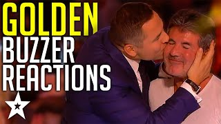 BEST Reactions To GOLDEN BUZZERS Ever On Got Talent! | Got Talent Global