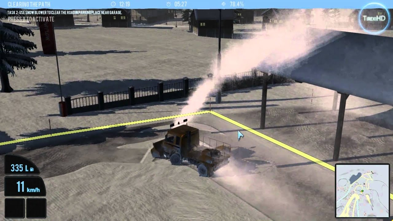 Snowcat Simulator 2011 Gameplay Youtube