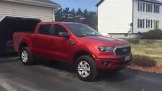 My 2019 Ford Ranger XLT 301A
