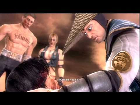 Mortal Kombat 9 - Raiden vs Liu Kang (Liu Kang's Death) HD