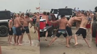 WILD FIGHTS: Nearly 70 arrests at Go Topless Jeep weekend