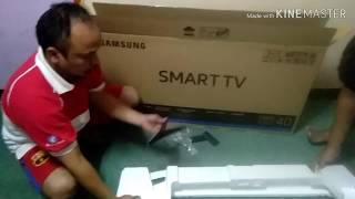 Unboxing smart tv samsung 5250/40inch