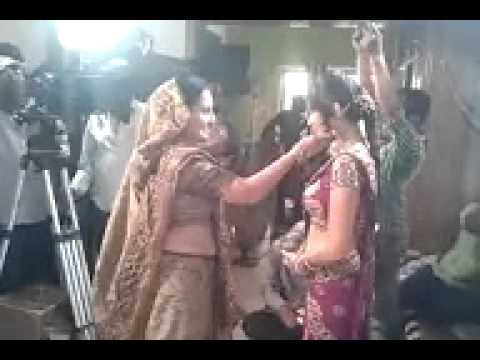Desi Gujarati Movie Shooting video