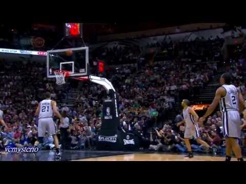 Klay Thompson 34pts-14reb vs Spurs 2013 Playoffs WCSF Gm2 - 3PT: 8/9