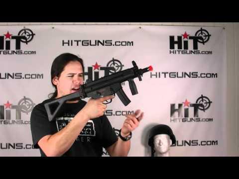 HitGuns.com - Airsoft Gun Review - Cyma CM041K KP5 PDW Airsoft Electric Gun