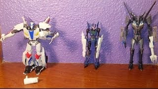 Shapeways Review - Smokescreen Set, Arcee Blasters/Blades and Starscream Blaster