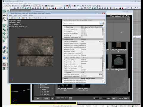 Unreal Development Kit Fracture Tutorial - UDK Tutorial
