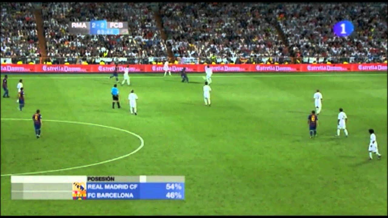 Real Madrid Vs Barcelona Possession