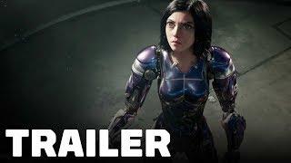 Alita: Battle Angel Trailer (2019) Rosa Salazar, Christoph Waltz
