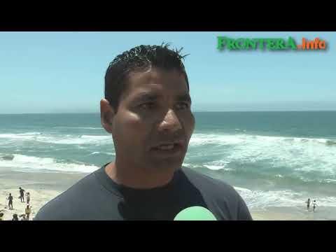 Buscan cuerpos de menores ahogados en Playas de Tijuana
