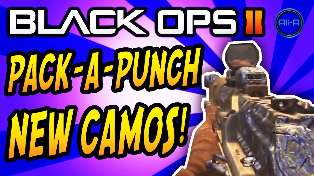 Pack a Punch Camo Black Ops 2 Black Ops 2 New Camos