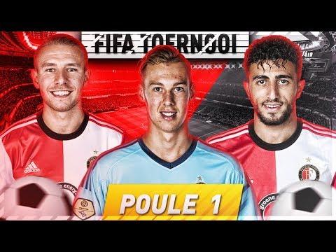 HET Feyenoord FIFA Toernooi! - POULE 1 - Ten Hove, Van Beek & Basacikoglu!