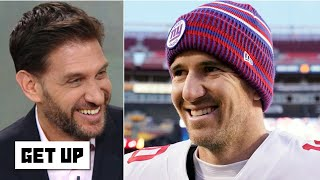 Greeny defends Eli Manning's Hall of Fame case: Not every QB is Joe Montana! | Get Up