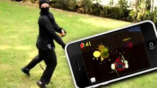 Fruit Ninja - Apple Fun Videosu - iPhoneOyna.com