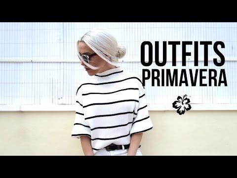 OUTFITS BÁSICOS PRIMAVERA | Lookbook ropa casual