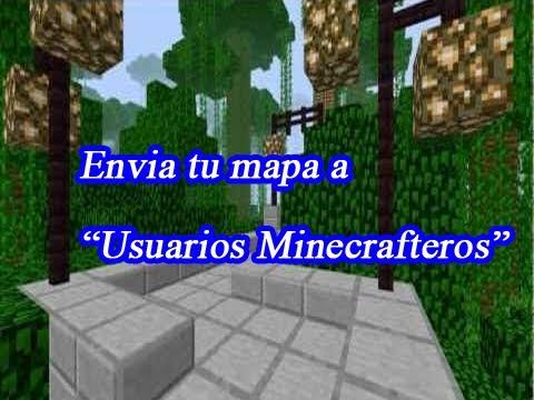 Como enviar tus mapas de Minecraft a