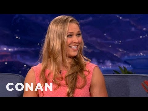 Mma Champ Ronda Rousey On Sex Before Matches - Conan On Tbs video