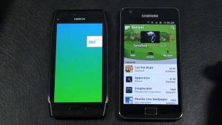 Nokia X7 vs Samsung Galaxy S II Face Off