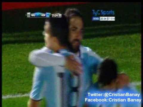 Argentina 1 Honduras 0 (Radio America)   Amistoso Internacional 2016