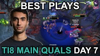TI8 BEST PLAYS Main Quals SEA\NA\EU DAY 7 Highlights Dota 2 by Time 2 Dota #dota2
