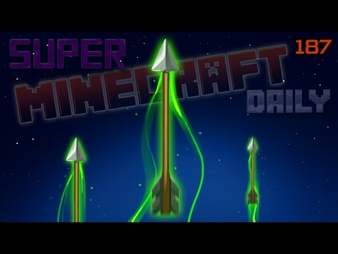 Arrow to the Moon and Life Stories | Super Minecraft Daily | Ep.187