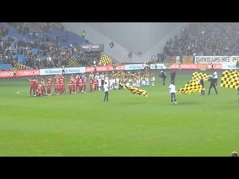 Opkomst Vitesse - Fc Twente