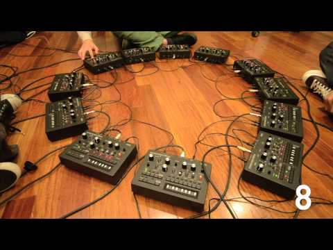 KORG monotribe x 12 (Relay) Music Videos