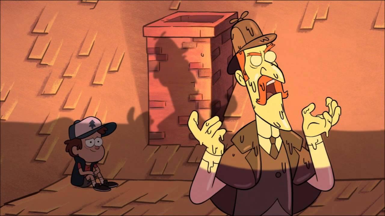 Gravity Falls Wax Figures Gravity Falls Death of Wax