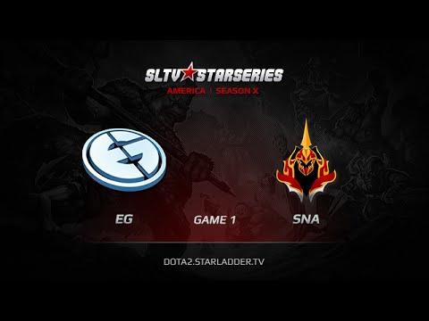 EG vs SNA, SLTV America Season X Play off FINAL Game 1 Part 2