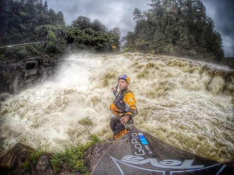 Ben Brown: GoPro Hero3+ NZ Flood Kayaking