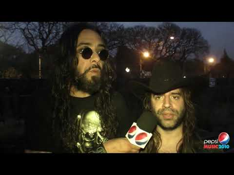 OCONNOR / Entrevista / DÍA 1 / 13 OCT / PEPSI MUSIC 2010