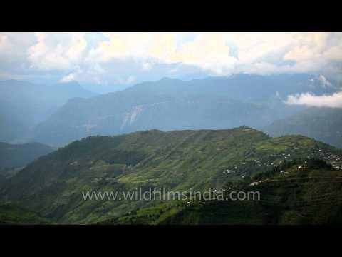 View of Regdu from Abbott Mount, Kumaon