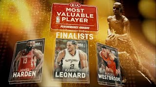 2017 NBA Awards: MVP Finalists