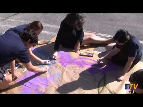 NAHS Sidewalk Chalk/Hadley Lane