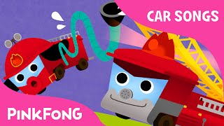 Fire Truck Song   Car Songs   PINKFONG Songs for Children