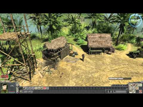 Men of War: Vietnam HD gameplay