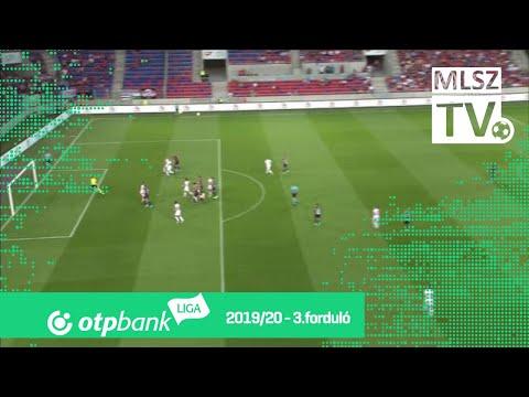 Elek Ákos gólja a MOL Fehérvár FC – DVTK mérkőzésen