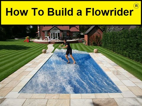 how to build a flowrider youtube