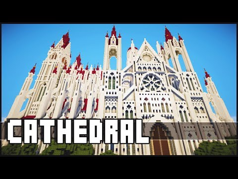 Minecraft Epic Cathedral