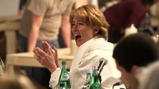 Dan Stevens, Emma Watson and Beauty and the Beast cast   table read   YouTube
